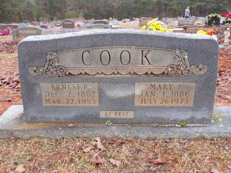 COOK, MARY I - Columbia County, Arkansas | MARY I COOK - Arkansas Gravestone Photos