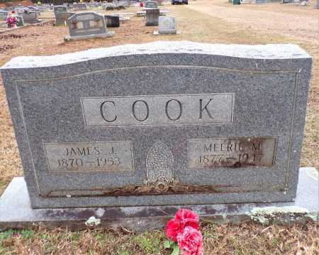 COOK, JAMES J - Columbia County, Arkansas | JAMES J COOK - Arkansas Gravestone Photos