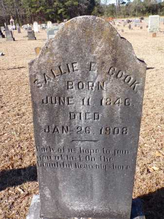 COOK, SALLIE E - Columbia County, Arkansas | SALLIE E COOK - Arkansas Gravestone Photos
