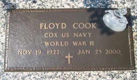 COOK (VETERAN WWII), FLOYD - Columbia County, Arkansas | FLOYD COOK (VETERAN WWII) - Arkansas Gravestone Photos