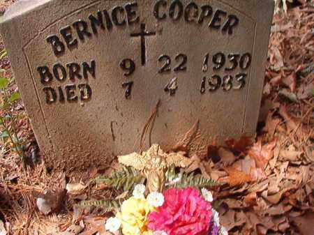 COOPER, BERNICE - Columbia County, Arkansas | BERNICE COOPER - Arkansas Gravestone Photos