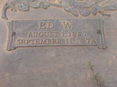 COOPER, ED W - Columbia County, Arkansas | ED W COOPER - Arkansas Gravestone Photos