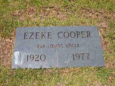 COOPER, EZEKE - Columbia County, Arkansas | EZEKE COOPER - Arkansas Gravestone Photos