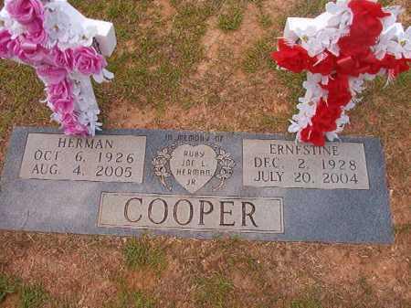 COOPER, ERNESTINE - Columbia County, Arkansas | ERNESTINE COOPER - Arkansas Gravestone Photos