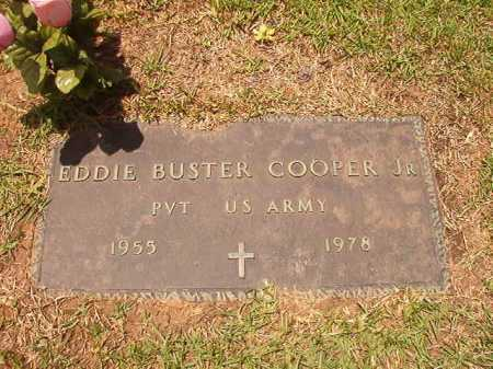 COOPER, JR (VETERAN), EDDIE BUSTER - Columbia County, Arkansas | EDDIE BUSTER COOPER, JR (VETERAN) - Arkansas Gravestone Photos