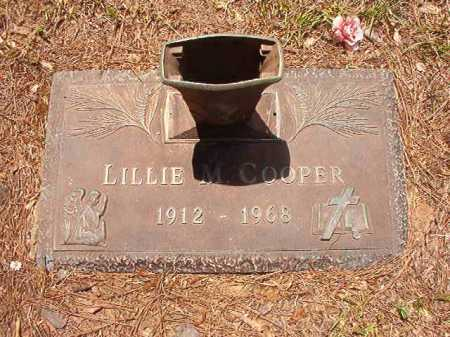 COOPER, LILLIE M - Columbia County, Arkansas | LILLIE M COOPER - Arkansas Gravestone Photos