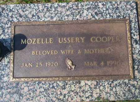 USSERY COOPER, MOZELLE - Columbia County, Arkansas | MOZELLE USSERY COOPER - Arkansas Gravestone Photos