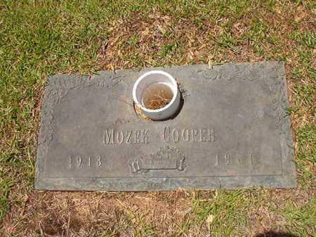 COOPER, MOZEK - Columbia County, Arkansas | MOZEK COOPER - Arkansas Gravestone Photos