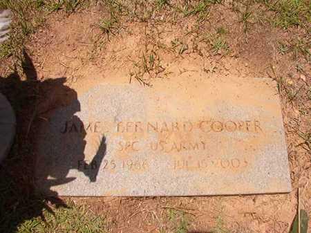 COOPER (VETERAN), JAMES BERNARD - Columbia County, Arkansas | JAMES BERNARD COOPER (VETERAN) - Arkansas Gravestone Photos
