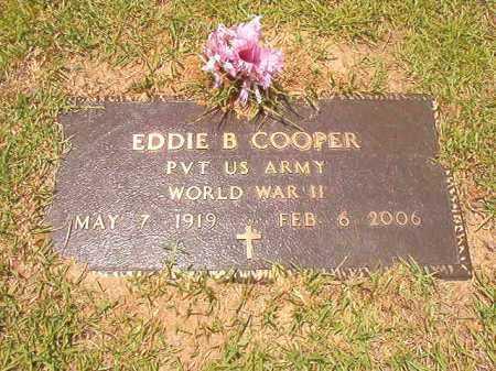 COOPER (VETERAN WWII), EDDIE B - Columbia County, Arkansas | EDDIE B COOPER (VETERAN WWII) - Arkansas Gravestone Photos