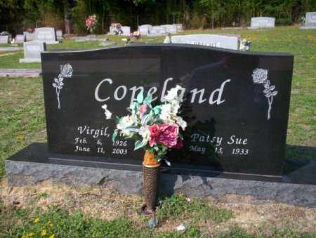 COPELAND, VIRGIL - Columbia County, Arkansas | VIRGIL COPELAND - Arkansas Gravestone Photos