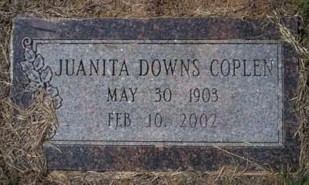 COPLEN, JUANITA - Columbia County, Arkansas | JUANITA COPLEN - Arkansas Gravestone Photos
