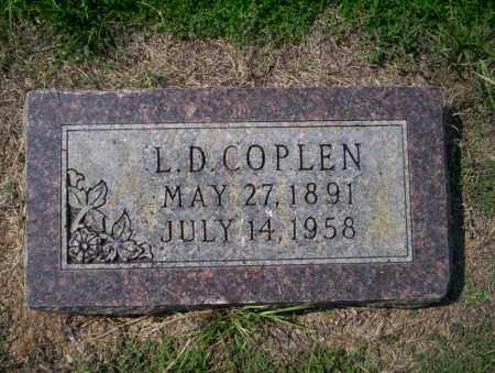 COPLEN, L D - Columbia County, Arkansas | L D COPLEN - Arkansas Gravestone Photos