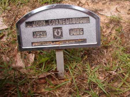 CORNELIOUS, JOHN - Columbia County, Arkansas | JOHN CORNELIOUS - Arkansas Gravestone Photos