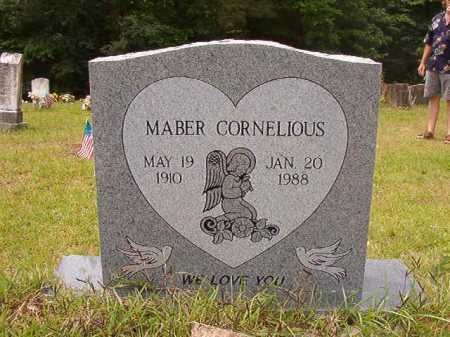 CORNELIOUS, MABER - Columbia County, Arkansas | MABER CORNELIOUS - Arkansas Gravestone Photos