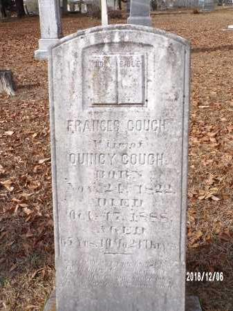 COUCH, FRANCES - Columbia County, Arkansas | FRANCES COUCH - Arkansas Gravestone Photos