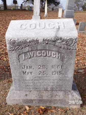 COUCH, I W - Columbia County, Arkansas | I W COUCH - Arkansas Gravestone Photos