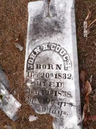 COUCH, JOHN H - Columbia County, Arkansas | JOHN H COUCH - Arkansas Gravestone Photos