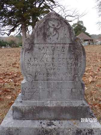 COUCH, MABLE - Columbia County, Arkansas | MABLE COUCH - Arkansas Gravestone Photos
