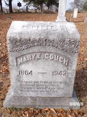 COUCH, MARY E - Columbia County, Arkansas | MARY E COUCH - Arkansas Gravestone Photos
