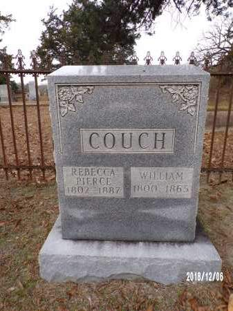 PIERCE COUCH, REBECCA - Columbia County, Arkansas | REBECCA PIERCE COUCH - Arkansas Gravestone Photos