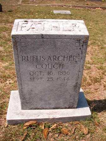 COUCH, RUFUS ARCHER - Columbia County, Arkansas | RUFUS ARCHER COUCH - Arkansas Gravestone Photos
