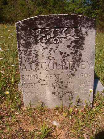 COURTNEY, A C - Columbia County, Arkansas | A C COURTNEY - Arkansas Gravestone Photos