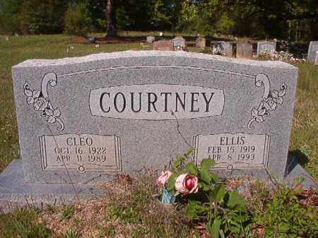 COURTNEY, CLEO - Columbia County, Arkansas | CLEO COURTNEY - Arkansas Gravestone Photos