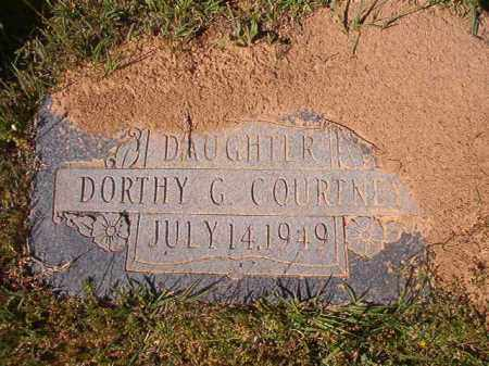 COURTNEY, DORTHY G - Columbia County, Arkansas | DORTHY G COURTNEY - Arkansas Gravestone Photos