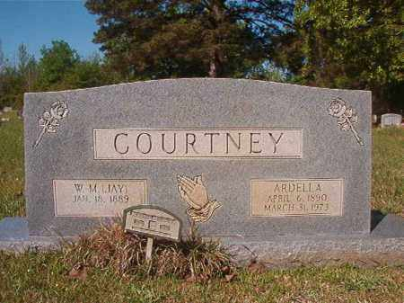 COURTNEY, W M (JAY) - Columbia County, Arkansas | W M (JAY) COURTNEY - Arkansas Gravestone Photos