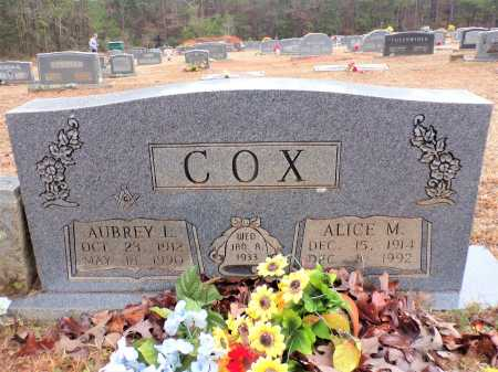COX, ALICE M - Columbia County, Arkansas | ALICE M COX - Arkansas Gravestone Photos