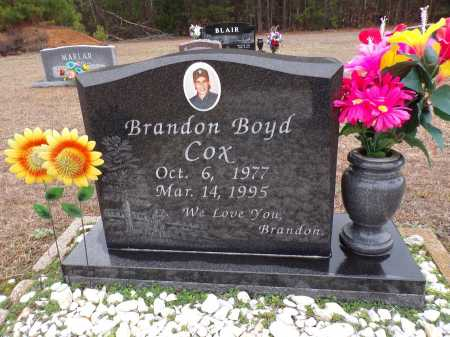 COX, BRANDON BOYD - Columbia County, Arkansas | BRANDON BOYD COX - Arkansas Gravestone Photos