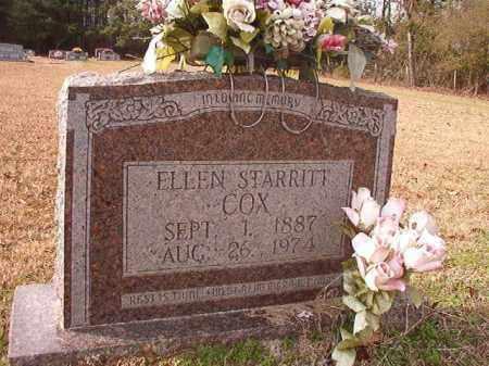 STARRITT COX, ELLEN - Columbia County, Arkansas | ELLEN STARRITT COX - Arkansas Gravestone Photos