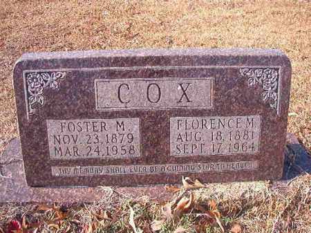 COX, FOSTER M - Columbia County, Arkansas | FOSTER M COX - Arkansas Gravestone Photos