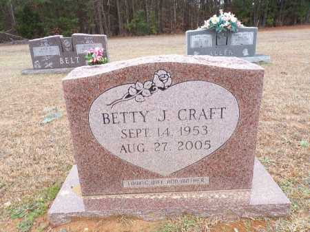 CRAFT, BETTY J - Columbia County, Arkansas | BETTY J CRAFT - Arkansas Gravestone Photos