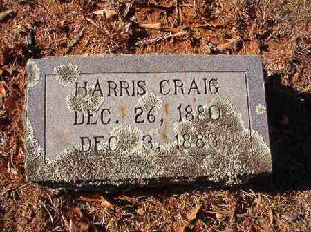 CRAIG, HARRIS - Columbia County, Arkansas | HARRIS CRAIG - Arkansas Gravestone Photos