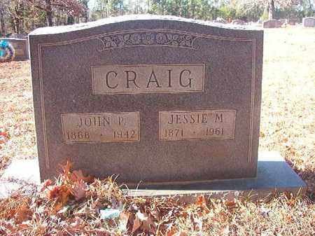 CRAIG, JESSIE M - Columbia County, Arkansas | JESSIE M CRAIG - Arkansas Gravestone Photos