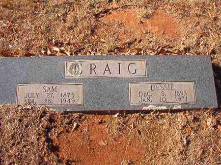 CRAIG, SAM - Columbia County, Arkansas | SAM CRAIG - Arkansas Gravestone Photos