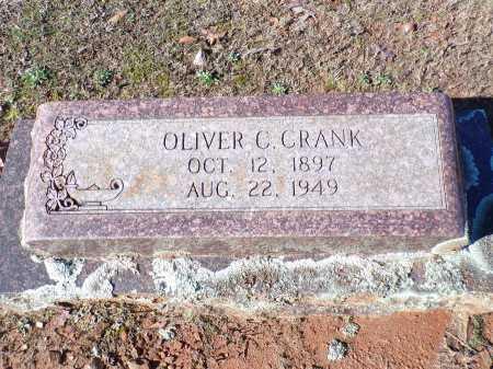 CRANK, OLIVER C - Columbia County, Arkansas | OLIVER C CRANK - Arkansas Gravestone Photos