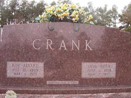 CRANK, ROY ALVARD - Columbia County, Arkansas | ROY ALVARD CRANK - Arkansas Gravestone Photos