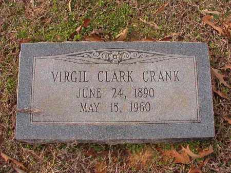 CRANK, VIRGIL CLARK - Columbia County, Arkansas | VIRGIL CLARK CRANK - Arkansas Gravestone Photos