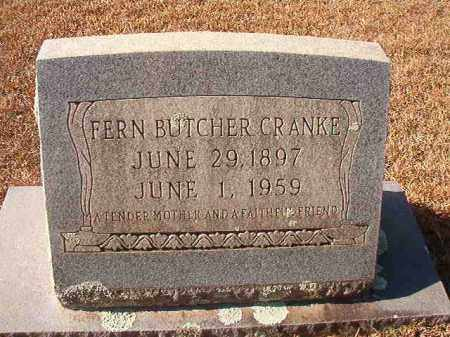 CRANKE, FERN - Columbia County, Arkansas | FERN CRANKE - Arkansas Gravestone Photos