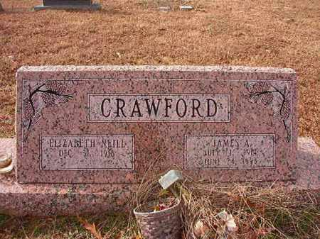 CRAWFORD, JAMES A - Columbia County, Arkansas | JAMES A CRAWFORD - Arkansas Gravestone Photos