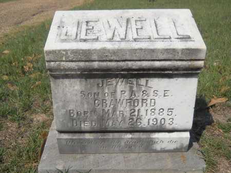 CRAWFORD, JEWELL - Columbia County, Arkansas | JEWELL CRAWFORD - Arkansas Gravestone Photos