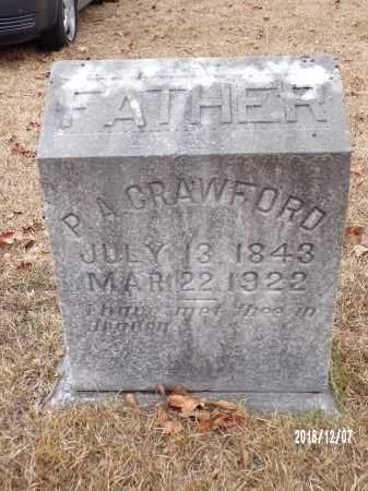 CRAWFORD, P A - Columbia County, Arkansas | P A CRAWFORD - Arkansas Gravestone Photos