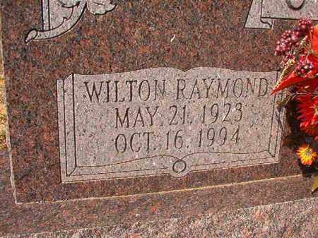 CRIDER, WILTON RAYMOND - Columbia County, Arkansas | WILTON RAYMOND CRIDER - Arkansas Gravestone Photos