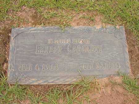 CROCKETT, ERNEST - Columbia County, Arkansas | ERNEST CROCKETT - Arkansas Gravestone Photos