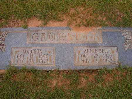 CROCKETT, ANNIE BELL - Columbia County, Arkansas | ANNIE BELL CROCKETT - Arkansas Gravestone Photos