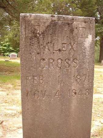 CROSS, ALEX - Columbia County, Arkansas | ALEX CROSS - Arkansas Gravestone Photos