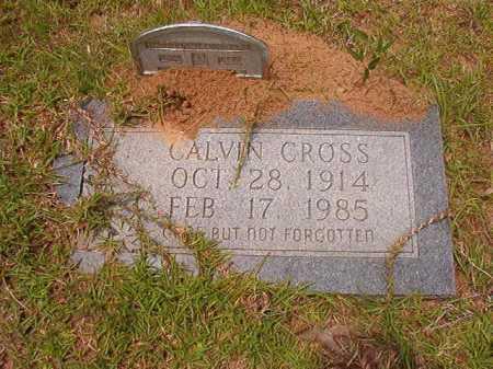 CROSS, CALVIN - Columbia County, Arkansas | CALVIN CROSS - Arkansas Gravestone Photos
